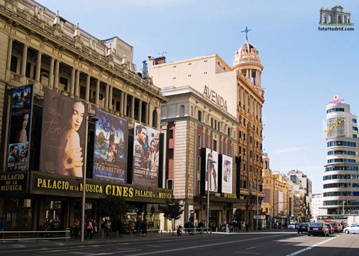 Cinco películas que fueron rodadas en la Gran Vía de Madrid